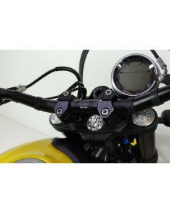 Gilles Tooling Adjustable Handlebar Riser Ducati Scrambler