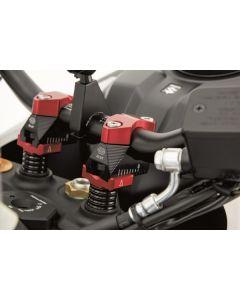 Gilles Tooling Adjustable Risers Ducati Hypermotard