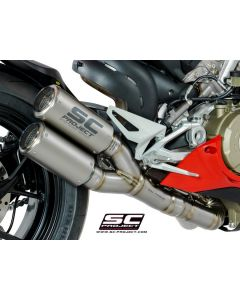 SC-Project Dual CR-T Exhaust 2018-2019 Ducati Panigale V4