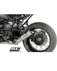 SC-Project CR-T Exhaust with Titanium Link Pipe 2014-2018 BMW R nineT