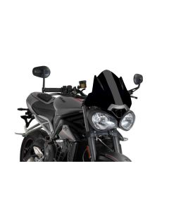 Puig Naked New Generation Flyscreen for Triumph Street Triple RS 2017-2018