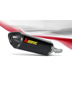Akrapovic Slip-on Line (Carbon) Exhaust 2014-2017 Honda CBR300R / CB300F