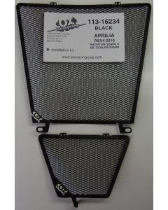Cox Racing Aluminum Radiator Guard Set Aprilia RSV4 / Tuono