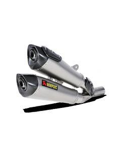 Akrapovic Slip-On Exhaust Ducati Diavel