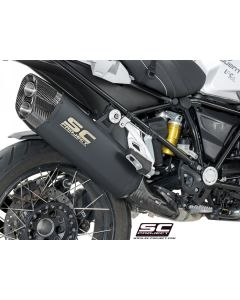 "SC-Project Black Titanium ""Adventure"" Exhaust 2019- BMW R1250GS"