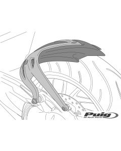 Puig Rear Fender with Aluminum Support '18-'19 BMW R1200GS / R1250GS