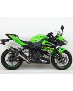 Hindle EVO Full Exhaust '18- Kawasaki EX500 Ninja