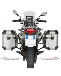 Givi Outback Sideframes 2012-2016 BMW G650 GS