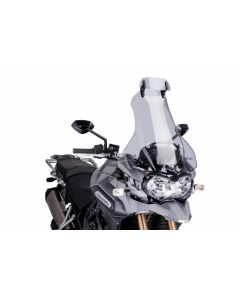 "Puig ""Clip-on"" Adjustable Visor 2012-2015 Triumph Tiger Explorer"