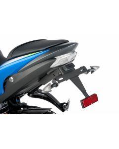 Puig License Plate Support 2015-2016 Suzuki GSX-S1000F