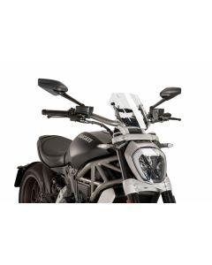 Puig Naked New Generation Windscreen 2016- Ducati X Diavel / S
