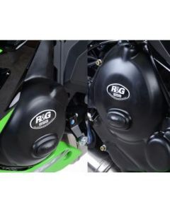 R&G Race Series 2-pc Engine Case Cover Kit 2017- Kawasaki Ninja 650 / Z650