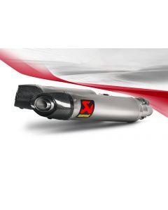 Akrapovic Slip-on Line (Titanium) Exhaust Aprilia Shiver / GT