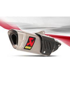 Akrapovic Slip-on Line (Titanium) Exhaust 2017- Yamaha FZ-10 / MT-10