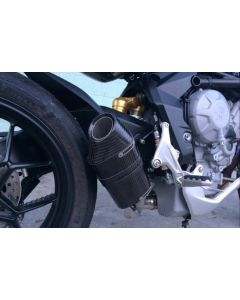 Shift-Tech Carbon Fiber GP Slip-on MV Agusta Rivale 800