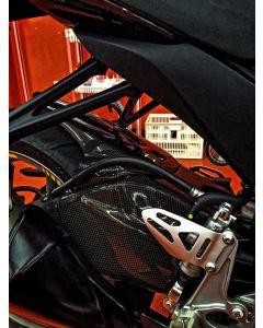 Carbon2race Carbon Fiber Swingarm Covers 2011-2016 Suzuki GSX-R600 / 750