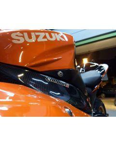 Carbon2race Carbon Fiber Frame Covers 2009-2015 Suzuki GSX-R1000