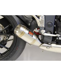 Competition Werkes GP Slip-on Exhaust 2011+ Triumph Speed Triple 1050