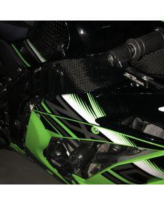 Carbon2race Carbon Fiber Frame Covers 2016-2018 Kawasaki ZX-10R